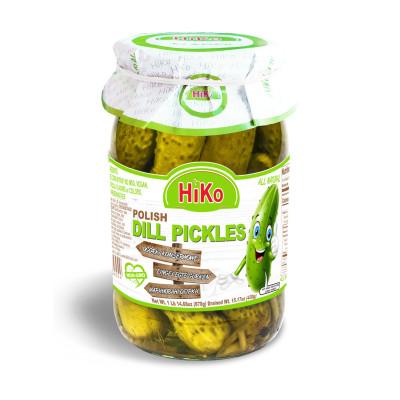 Hiko Non-Gmo Polish Dill Pickles