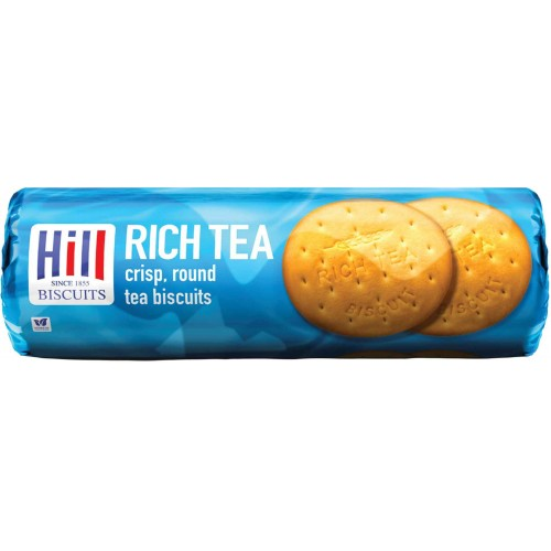 Hill Biscuits Rich Tea Rounds