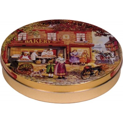 Jacobsens of Denmark Bakers Shop Assorted Butter Cookie Tin