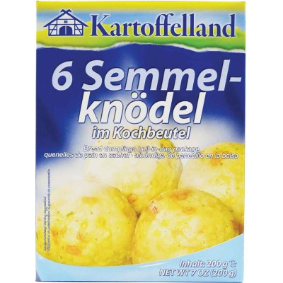 Kartoffelland 6 German Bread Dumplings Mix in Cooking Bags