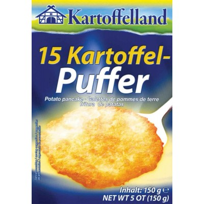 Kartoffelland 15 German Potato Pancakes Mix
