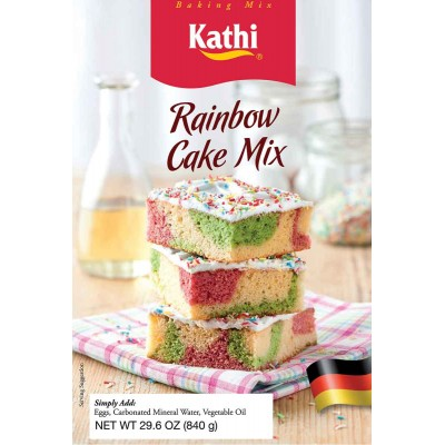 Kathi Rainbow Sheet Cake Mix