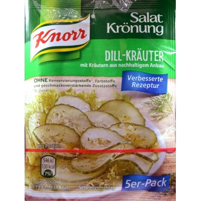 Knorr Garden Salad and Dill Herb