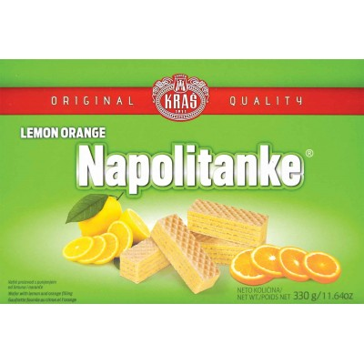 Kras Lemon Orange Wafer