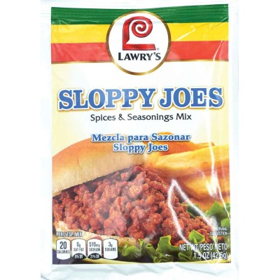 Lawrys Sloppy Joes Spice and Seasoning