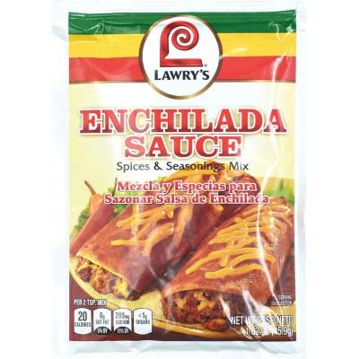 Lawrys Enchilada Sauce Spice and Seasoning