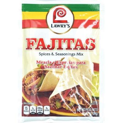 Lawyrs Classic Fajitas Spice and Seasoning