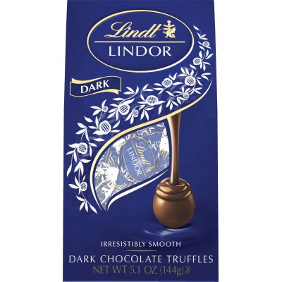 Lindt Dark Chocolate Lindor Truffles Bag