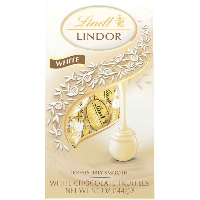 Lindt White Chocolate Lindor Truffles Bag