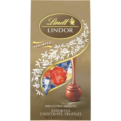 Lindt Assorted Chocolate Lindor Truffles Bag
