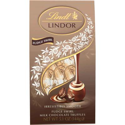 Lindt Lindor Fudge Swirl Truffle Bag