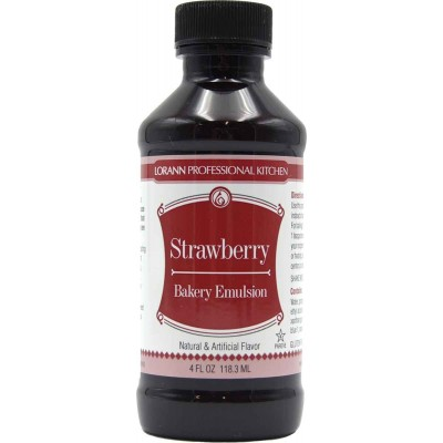 Lorann Gourmet Strawberry Bakery Emulsion