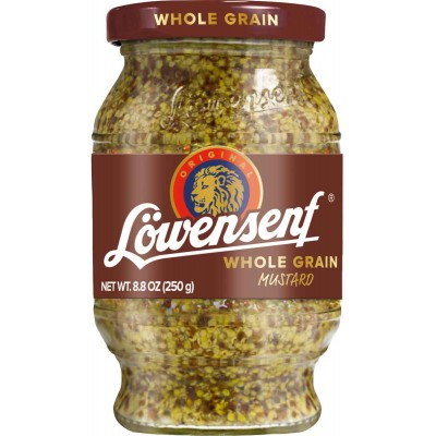 Lowensenf Wholegrain Mustard Jar