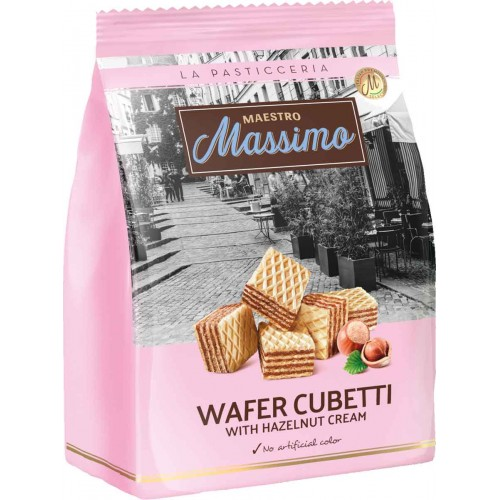 Maestro Massimo Cubetti Hazelnut Wafer Bag