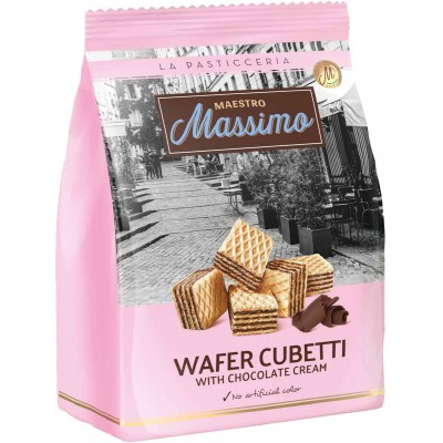 Maestro Massimo Cubetti Chocolate Wafer Bag