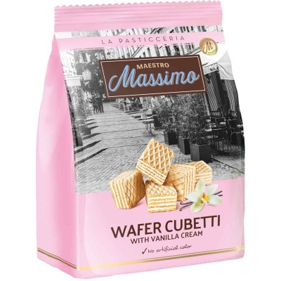 Maestro Massimo Cubetti Vanilla Wafer Bag