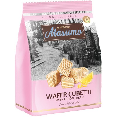 Maestro Massimo Cubetti Lemon Wafer Bag