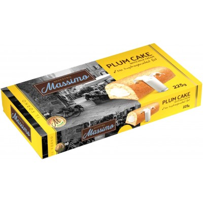 Maestro Massimo Plum Cake with Cream Filling 5 Piece Box