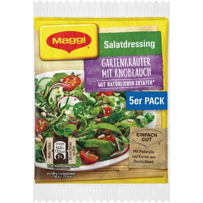 Maggi Garten Krauter with Garlic Salad Herb 5 pk