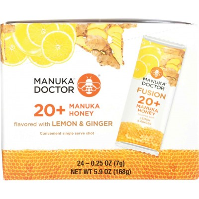 Manuka Doctor Manuka Honey Lemon Ginger SS Packet