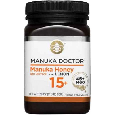 Manuka Doctor Bioactive 15+ with Lemon Manuka Honey