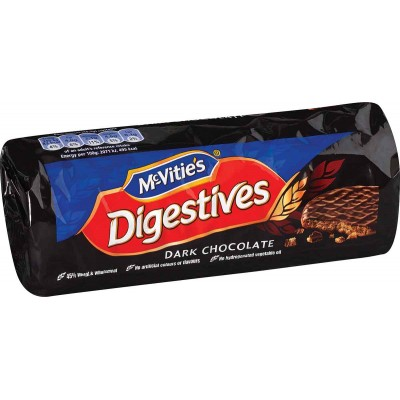 McVities Digestive Dark Chocolate Cookie