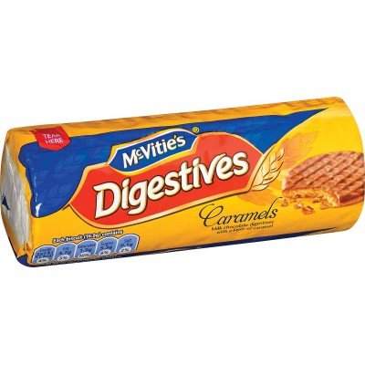 McVities Digestive Caramel Cookie