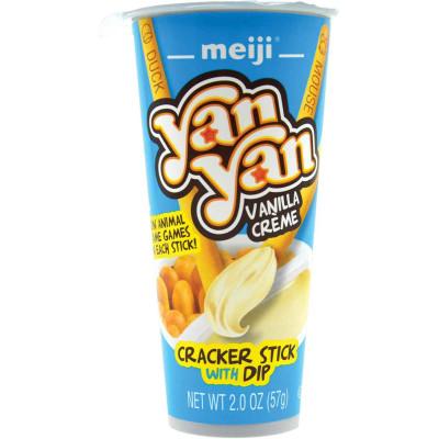 Meiji YanYan Cookie Stix & Vanilla