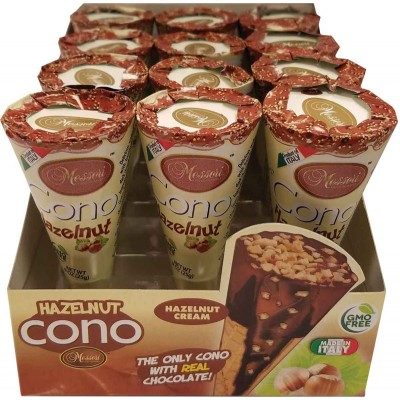Messori Hazelnut Cream Cono Snacks