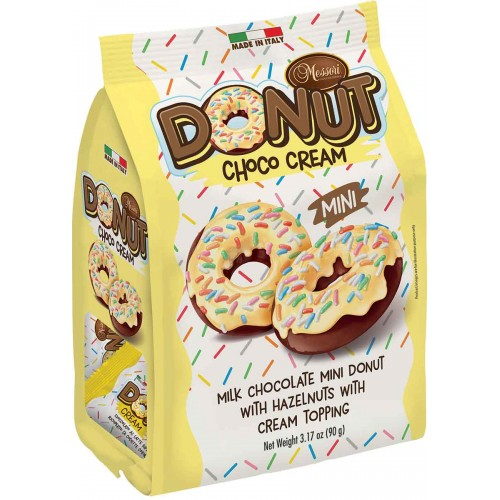 Messori Chocolate Cream Donuts Bag