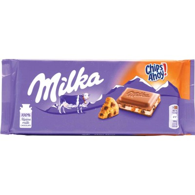Milka Chips Ahoy Milk Chocolate Bar