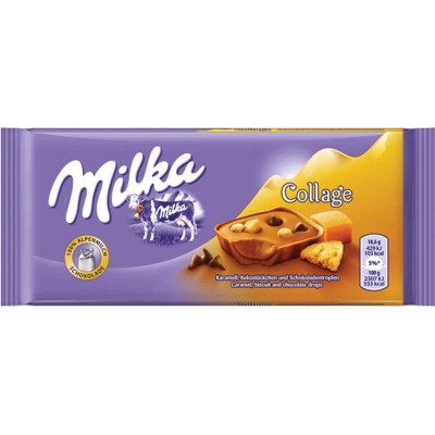 Milka Collage Chocolate Bar