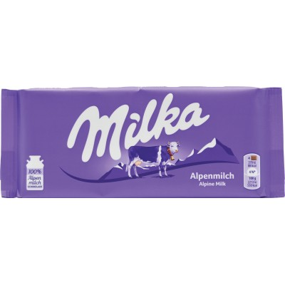 Milka Alpenmilch Chocolate Bar