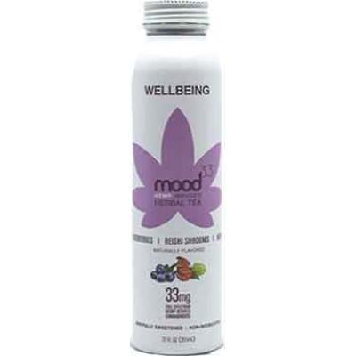 Mood 33 Hope Blueberry Shrooms Herbal Tea