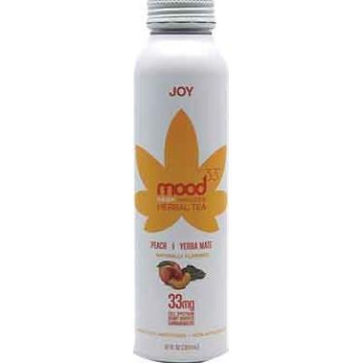 Mood 33 Joy Peach Yerbe Mate Herbal Tea