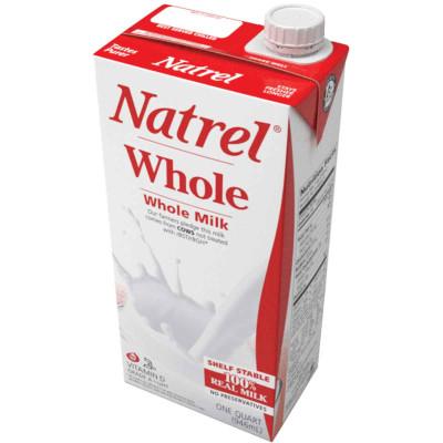 Natrel Whole Milk with Vitamin D