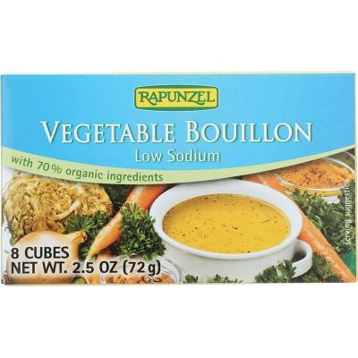 Rapunzel Vegan Vegetable without added Salt