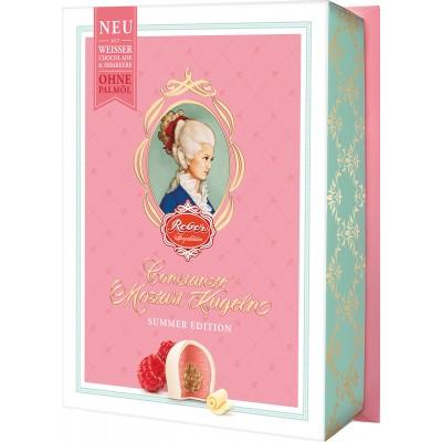Reber White Chocolate Raspberry 6 Piece Kugeln Box