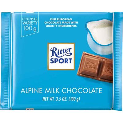 Ritter Alpine Milk Chocolate Bar
