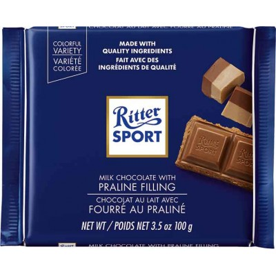Ritter Nougat Praline Chocolate Bar