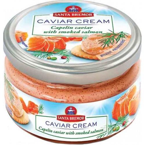 Santa Bremor Salmon Caviar Cream Jar
