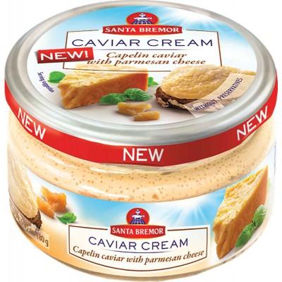 Santa Bremor Parmesan Caviar Cream Jar