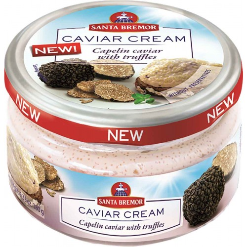 Santa Bremor Truffle Caviar Cream Jar