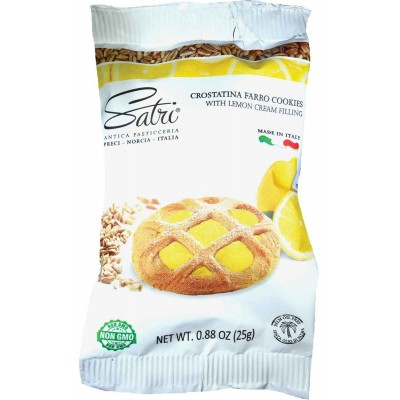 Satri Crostantini Lemon Tart Single Serve