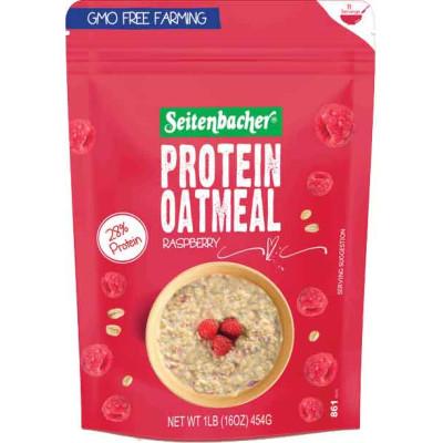 Seitenbacher Raspberry Protein Oatmeal