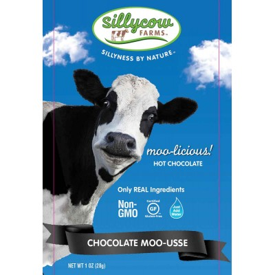 Silly Cow Chocolate Moo-Usse Single Serve