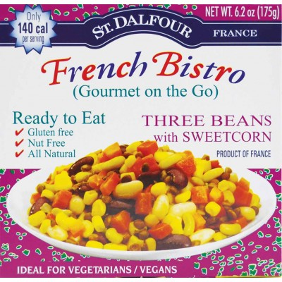 St Dalfour Three Beans & Sweet Corn