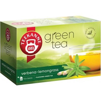 Teekanne Green Tea with Verbena Lemongrass