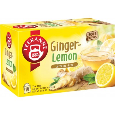 Teekanne Ginger Lemon Tea