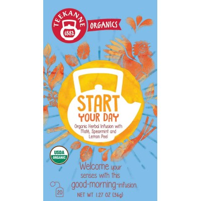 Teekanne Organic Start Your Day Tea